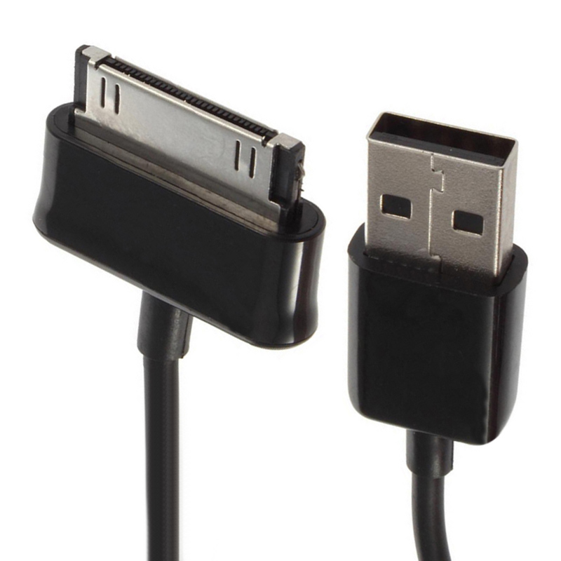 USB Charger Sync Data Cable Cord For Samsung Galaxy Tab Tab 2 3 7.0 8.9 10.1 Note 2 P1000  P1010 P3100 P6810 P7510  Tablet