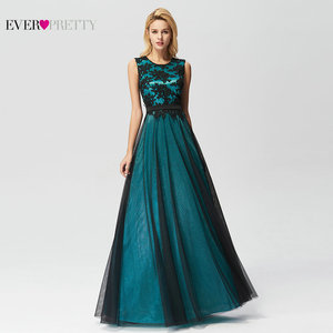 Image 5 - Vestidos de talla grande para dama de honor, vestidos elegantes de corte A con cuello redondo sin mangas, apliques formales, vestidos para invitados de Fiesta de bodas, Vestido de Fiesta para Mujer