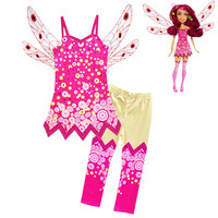 New Spring Girls Miya Camisole Summer Dress Vest Baby Sling Child Trousers Beauty And Beast Female