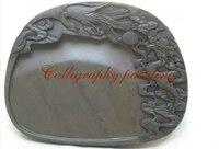 Китайский Zhaoqing Duan Yan чернильный камень резной дракон и Феникс чернильный камень 10399