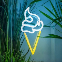Party Art Word Sign Wedding Shop Window USB Powered Atmosphere Decoration Led Neon Light Photography Prop Wall Hanging Bar Home