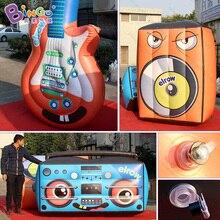 Sealed Air 3,5 м надувные Гитары модели replica для Концерт/шоу/stage-надувные игрушки