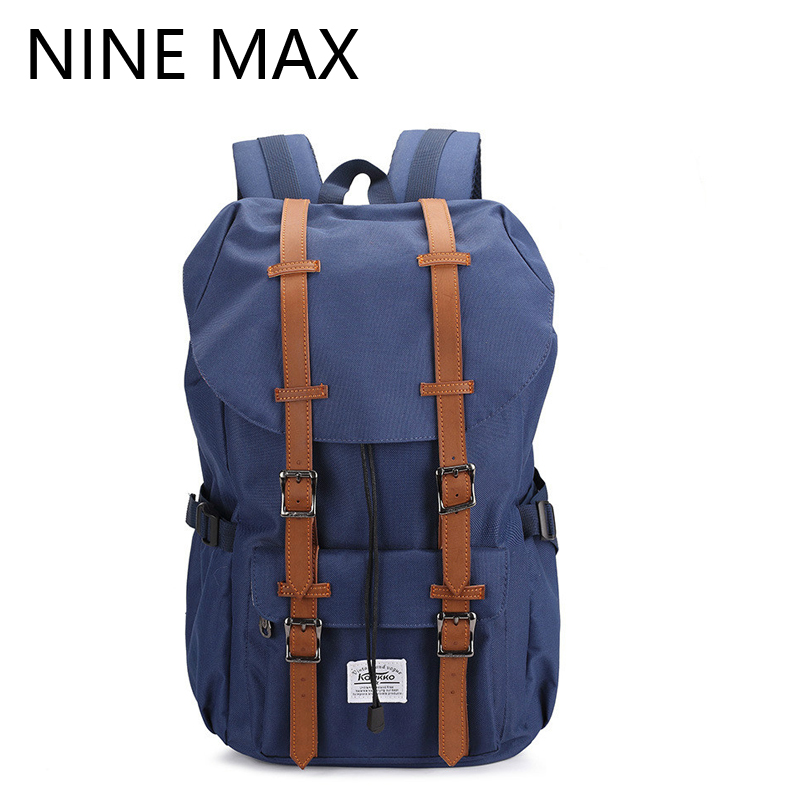 2016 NEW Brand Design Unisex High Quality Vintage Casual Solid Backpack Durable Rucksack for Man Canvas Fashion Laptop Bags new high quality vintage casual 100