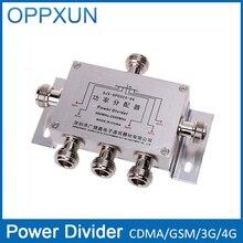 Divisor de potencia Divisor 5 Way Cavidad N type380-2500MHz Para 3G CDMA GSM Teléfono Celular amplificador de Señal Del Repetidor