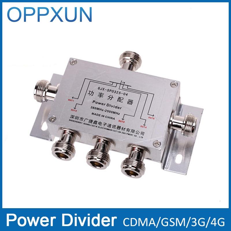 bilder für Power Splitter Teiler 5 Way Cavity N type380-2500MHz Für 3G CDMA GSM Handy Signal Booster Repeater