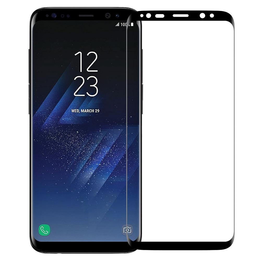 Para Samsung Galaxy S8 S8Plus Soft nanómetro Anti explosión Protector de pantalla 3D completa película curvada (vidrio no templado) s8 S8 +