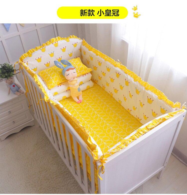 bfec88d92edb Blue Universe Design Crib Bedding Set Cotton Toddler Baby Bed Linens ...