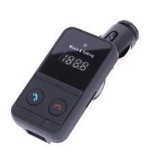 Envío libre Bluetooth Reproductor MP3 Transmisor FM Inalámbrico de Coche con USB Ranura SD Jack Kit de Coche con Mando A Distancia