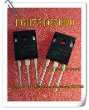 10PCS/LOT FGH75T65UPD FGH75T65 IGBT 650V 150A 375W TO-247AB