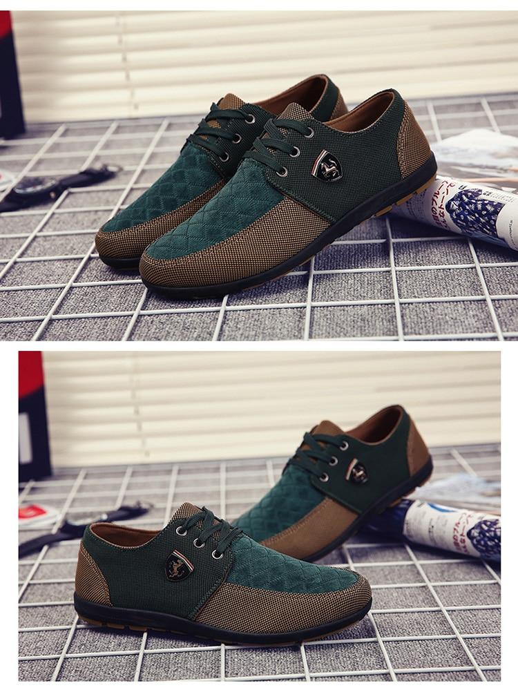 HTB1bHAuah rK1RkHFqDq6yJAFXaN 2019 Shoes Men Flats Canvas Lacing Shoes Breathable Men Casual Shoes Fashion Sneakers Men Loafers Wholesale Men 39 S Shoes