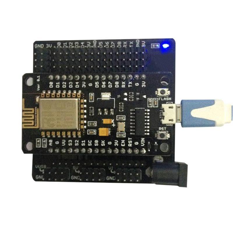 ESP8266 CH340G NodeMcu Expansion Board V3 Lua Breakout Development Boards XXM8 esp8266 esp 12 deleopment board nodemcu lua wifi module iot