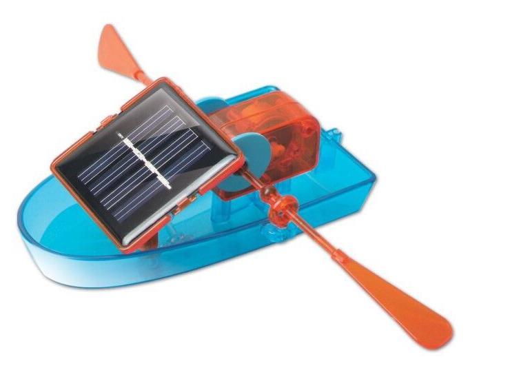 Praktisch Solar Power Boot Diy Creative Solar Powered Boot Roeien Assembleren Speelgoed Voor Kinderen Educatief Speelgoed Groot Assortiment