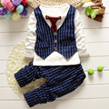 Fashion Baby Boy Clothing Sets Young Gentleman Christmas Costumes For Boys Coats With Tie Boy Party Clothes Suits Sets Kids