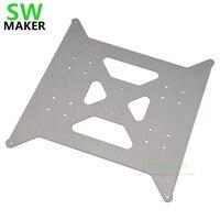 SWMAKER Aluminium Y wagen platte update für Flsun I3 plus 3D drucker 3mm dick kostenloser versand|3D Druckerteile & Zubehör|   -
