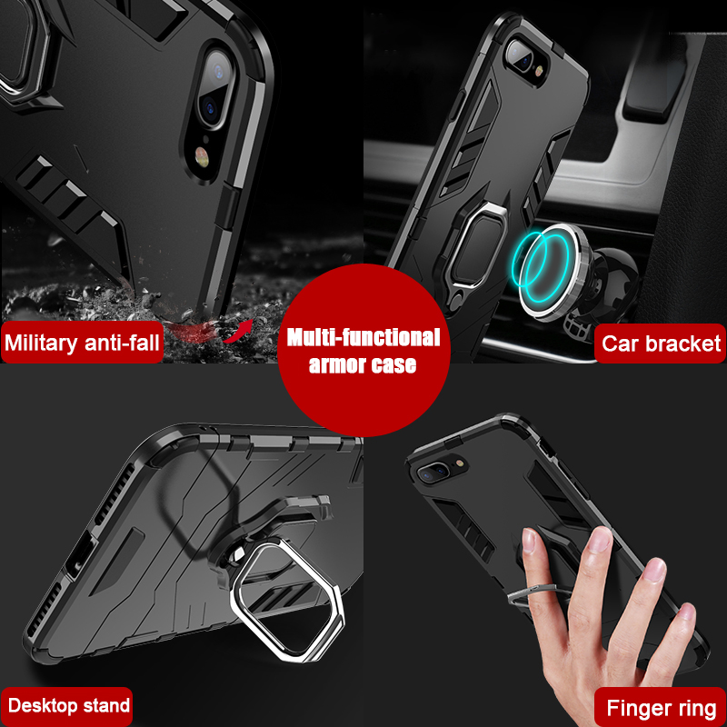 Image 3 - NORTHFIRE Shockproof Case For Xiaomi Redmi Note 5/6 pro 4/4X Magnetic Car Holder Case For Xiaomi MI8 Lite A1/A2 Mix 2 S 5X/6X