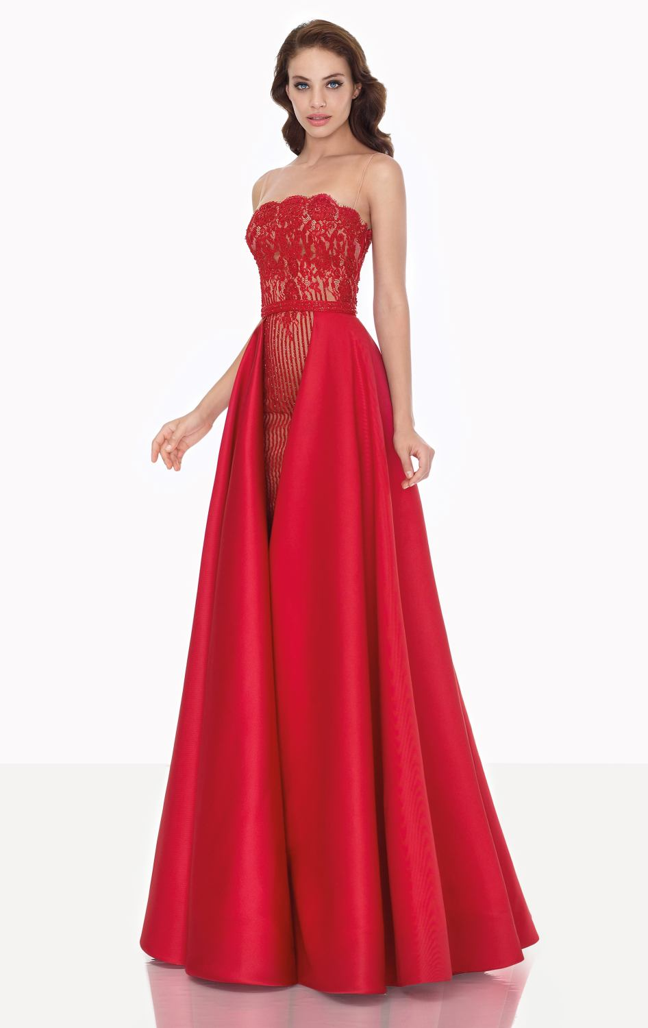 Popular Red Silk Prom Dresses-Buy Cheap Red Silk Prom Dresses lots ...