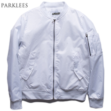 Men Bomber Casual Motorcycle