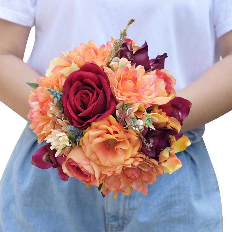 -   Romantic Synthetic Wedding ceremony Bouquets Flower 2018 Boutonnieres for Groomsman Man Go well with Bridemaid Wrist Corsage Wedding ceremony Equipment HTB1bHCCfv6H8KJjy0Fjq6yXepXaN
