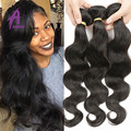 Cheap 3 Bundles Raw Indian Hair Bundle Deals Indian Virgin Unprocessed Human Hair Bundles Peerless Indian Virgin Hair Body Wave
