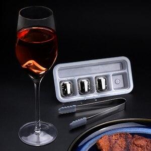 Image 5 - Youpin cubito de hielo circular Joy 304 de acero inoxidable, máquina de hielo lavable a largo plazo para corchos de vino, zumo de fruta H20