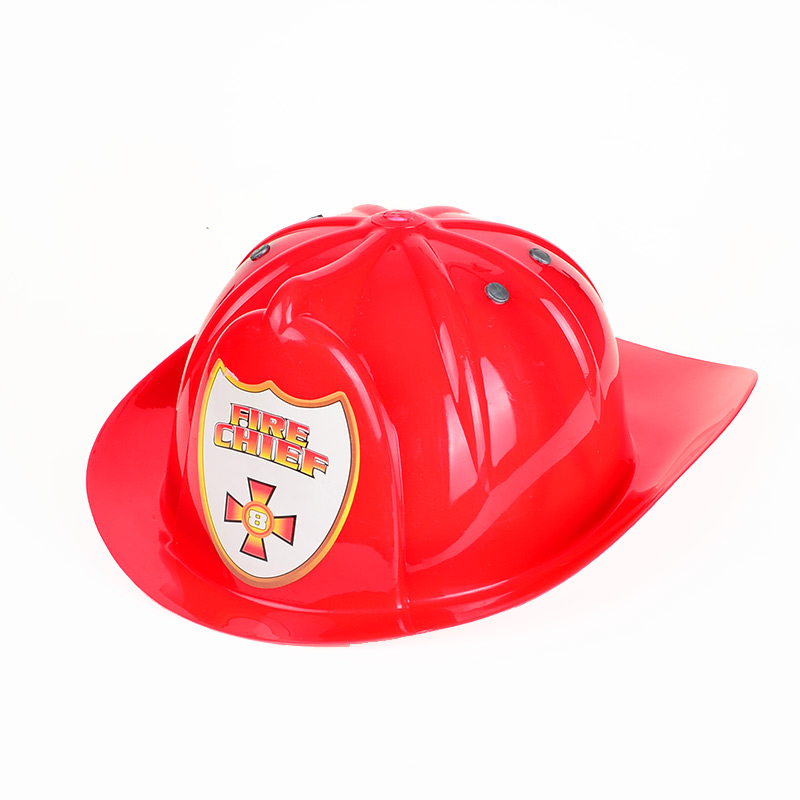 BOHS Fire Chief Hat Captain Cap Role-playing Pretend Play Toy Show Props