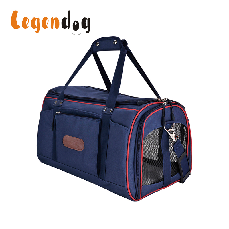 Legendog Dog Bag Carrying Bags For Dogs Carriers Dog Bags Travel Pet Corduroy Colorful Cat Carrier