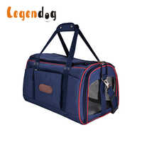 Legendog Dog Bag Carrying Bags For Dogs Carriers Dog Bags Travel Pet Corduroy Colorful Cat Carrier Bag Soft Canvas Fit Weight