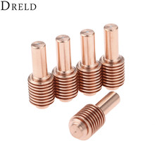 DRELD 5pcs 15A-30A Plasma Electrodes 420120 for 30 xp Cutter Torch Plasma Cutting Consumable Parts Welding & Soldering Supplies цены