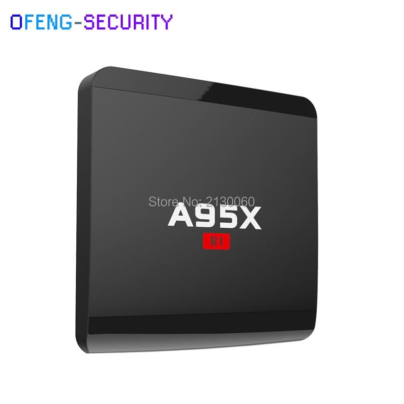 A95X R1 Android 7.1 TV Box Amlogic S905w Quad Core 1GB 8GB HDMI 2.0 4Kx2K HD Smart Media Player 2.4GHz WiFi Media Player