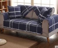 Simple Modern Four Seasons Universal Combination Sofa Cushion Cotton Fabric Living Room Towel Non Slip Cushion