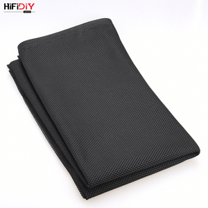 Image 5 - HIFIDIY LIVE Speaker Grill Cloth Stereo Fabric Gille Mesh Cloth Speaker Protective Accessories  Black 1.5*0.5