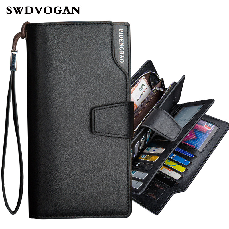 Man Purses Wallets Luxury Pu Leather Male Purse For Men Clutch Phone Case For iPhone 6 8 4.7  Pocket Wallet Bag Cuzdan Carteira double zipper men clutch bags high quality pu leather wallet man new brand wallets male long wallets purses carteira masculina