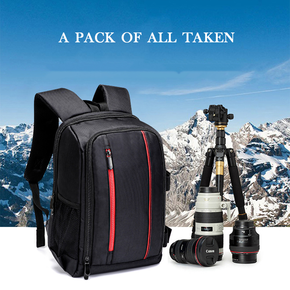 Tripod Bag Photo Digital Camera Shoulders Padded Backpack Bag Case Waterproof Shockproof Small Bags for Canon Nikon DSLR HU-00 shockproof dustproof camera tripod carry bag