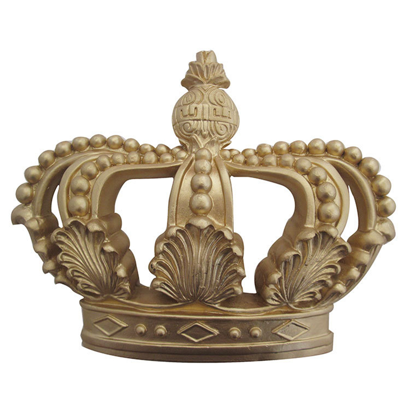 European Modern Crown Pendant Wall Hanging Retro Background Wall Decoration Three-dimensional Hanging Wall Decor Vintage Home