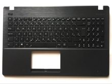 цена на WB West Balkans For Asus X551 X551C X551M X551S Laptop keyboard Black with Palmrest Upper keyboard  WB Layout