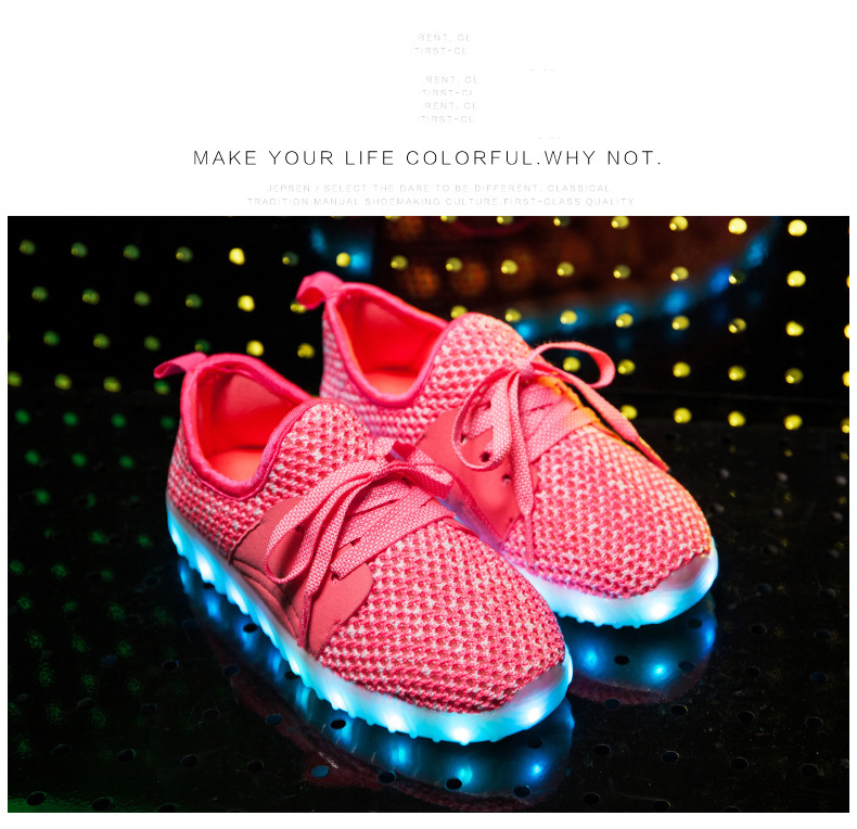 Led Sneakers YZY v2 Kids 15