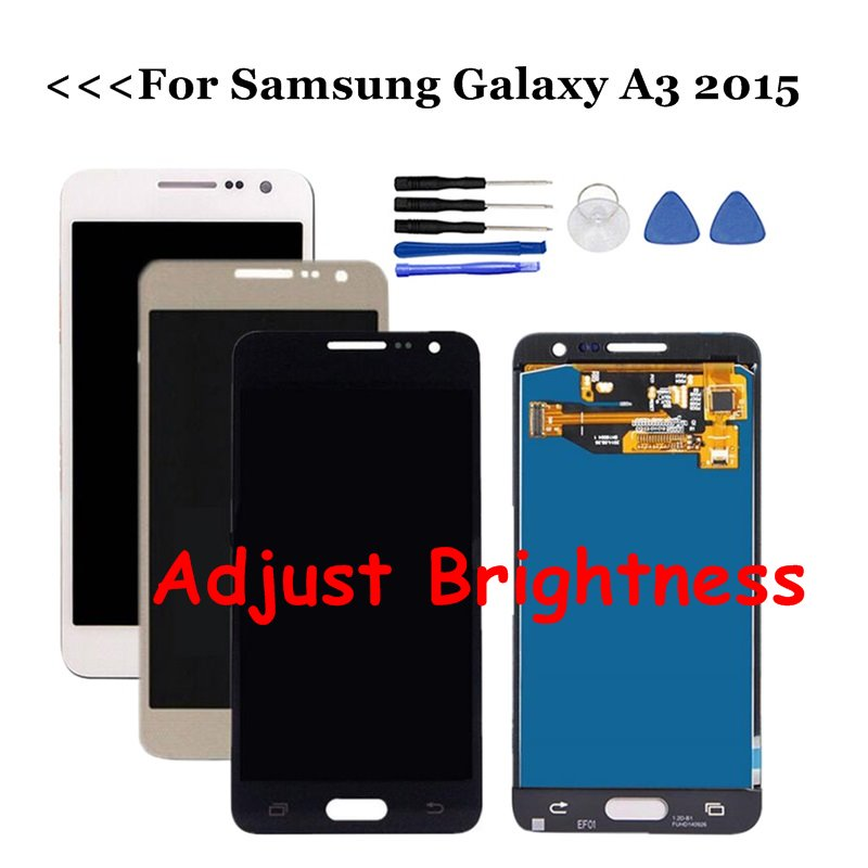For Samsung Galaxy A3 2015 LCD A300 A300H A300F A300M LCD Display Touch Screen Digitizer Assembly