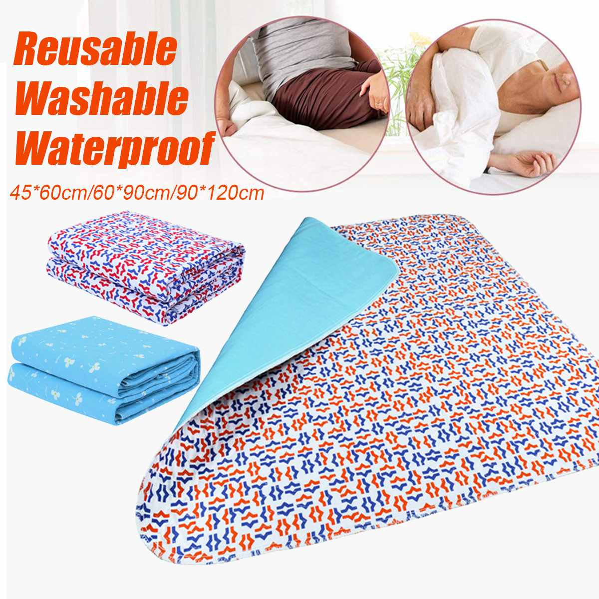 3-layer Baby Underpad Waterproof Changing Mat Infant Urine Pad Mattress Sheet Protector Bedding Incontinence Kids Adult Supplies