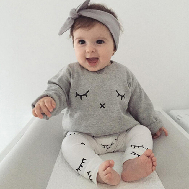 85f637b1b729d Newborn Baby Sets Toddler Baby Clothing Sets Spring Autumn Long Sleeve T  Shirts + Pants 2pcs Casual Baby Boy Clothes Sets-in Clothing Sets from  Mother ...