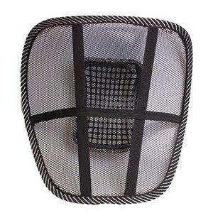 Image 2 - Cojín lumbar para asiento de coche, apoyo para silla de oficina, cojín para asiento de coche, tirantes para espalda, reposacabezas