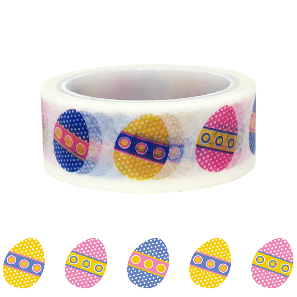20pcs/set DIY Decorative Sticker Handbook And Paper Washi Tape For Easter Eggs Washi Tape For Decoration