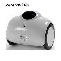 720 P IP Камера wi fi робот Камера для видеонаблюдения Камера s cctv 360 градусов беспроводной зарядки аккумулятора телефона дистанционного управле