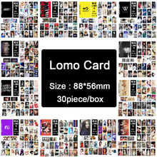 KPOP BIGBANG/EXO//BLACKPINK/GOT7/IKON/RED VELVET/ NCT127/TXT/GIDLE/TWICE/IZONE/LOONA Album LOMO Small Cards Photos Photocard(China)