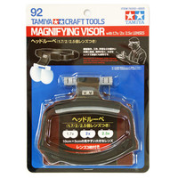 OHS Tamiya 74092 Model Tools Magnifying Visor With 1.7x/2x/2.5x Lenses Hobby Craft Tools Accessory