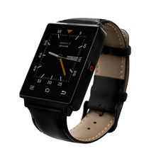 Quad core 1G Ram Msapphire Spiegel Display multitouch Smart Uhr Mit Pulsmesser Funktion Smartwatch Für Android Telefon