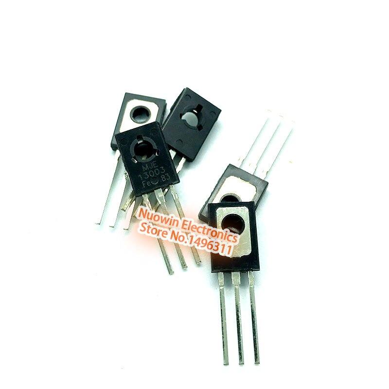 50Pcs MJE13003 E13003 13003 TO-126 Transistor  LS