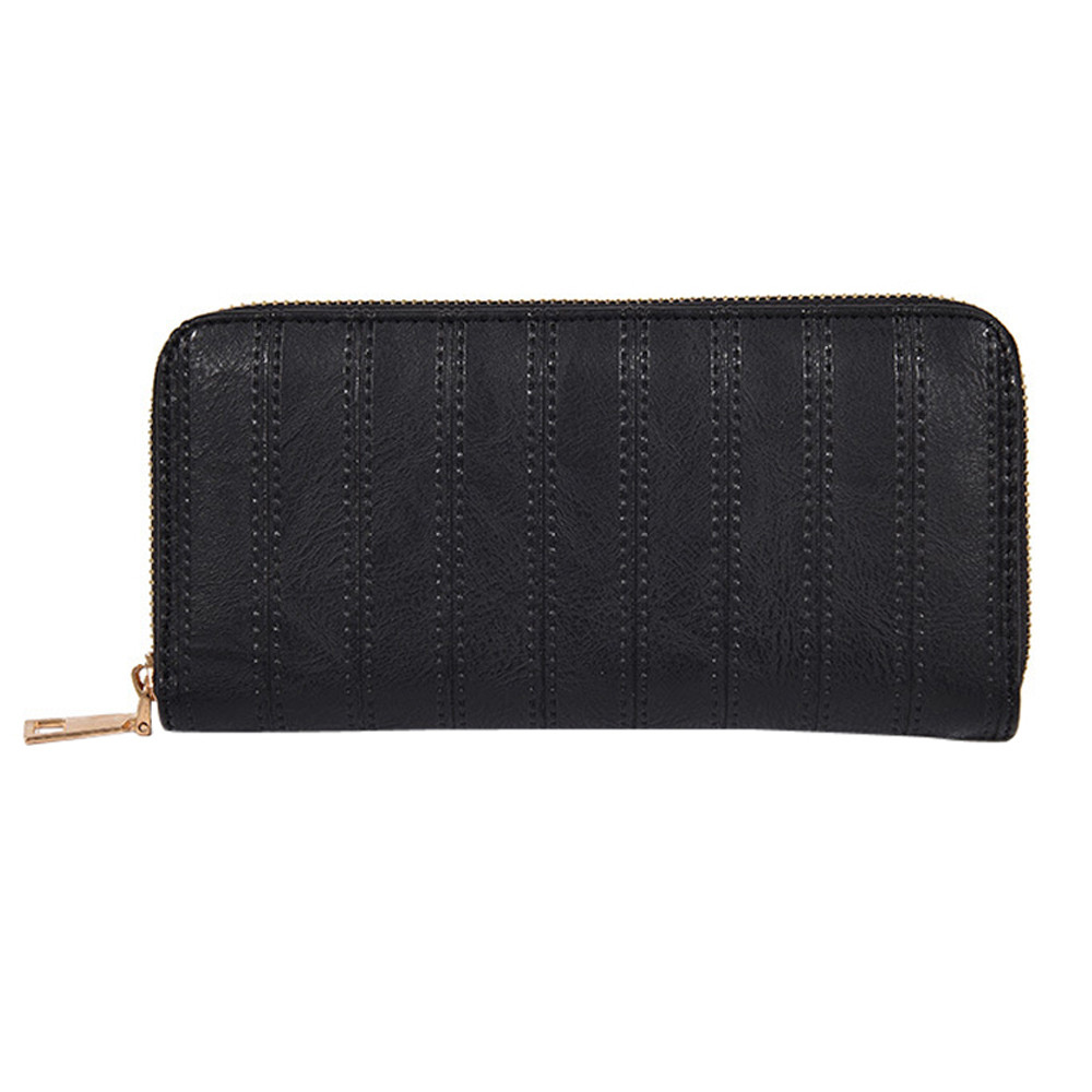 Women's Purse New Fashion Lady Women Leather Wallet Long Clutch Card Holder Purse bags for women 2017 Female Jujer Wallets A8 ouluoer thailand imported crocodile skins the lady women purse with a purse and a long women wallet