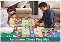2017 Venda Quente 82*82 cm Simplesmente Ludo Padrão Tapetes de Jogo Do Bebê atividade Mat Rastejando Esteira de Acampamento Dos Miúdos Tapete Para As Crianças Brincam jogos