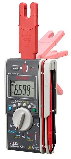 Pocket Clamp Meter : Sanwa pm a hybrid pocket size digital multimeter clamp