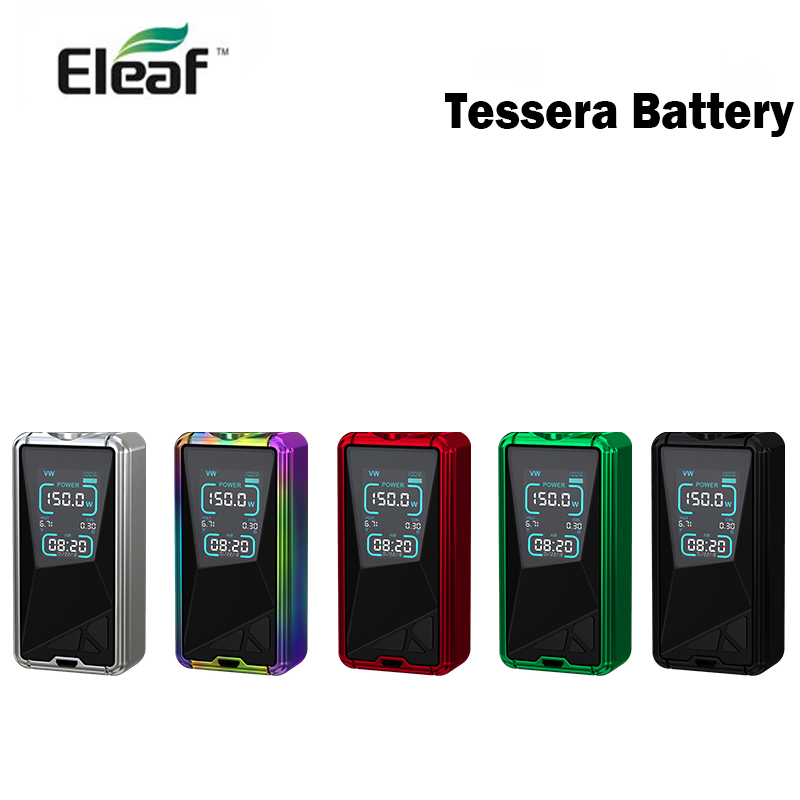 Eleaf Tessera 150W Battery vaporizer with 3400mAh Battery box mod Eleaf vaper cigarette electronique